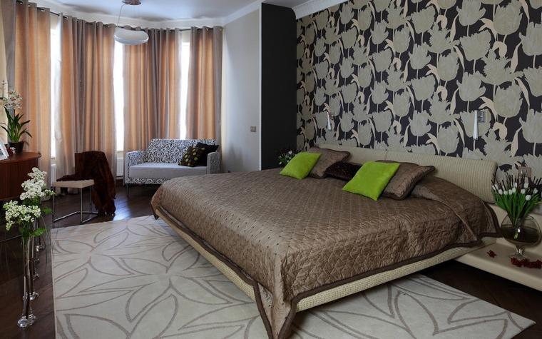 Квартира. спальня из проекта , фото №64003