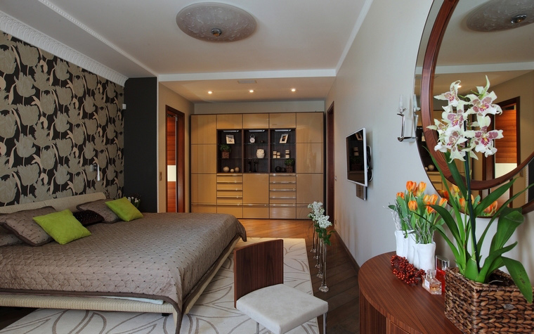 Квартира. спальня из проекта , фото №64005