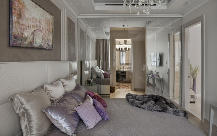 Фото № 64052 спальня  Квартира