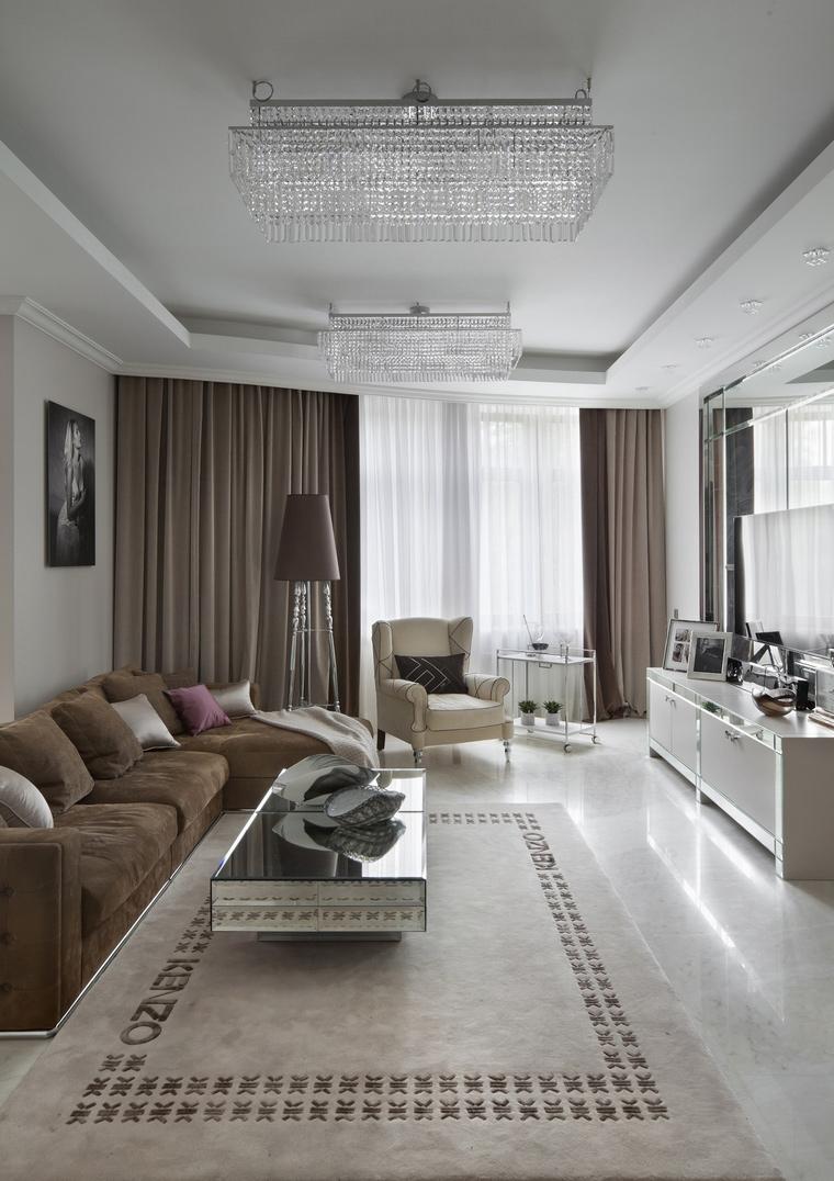 Фото № 64044 гостиная  Квартира