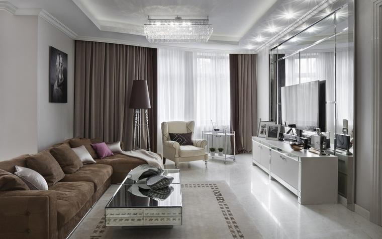Фото № 64045 гостиная  Квартира