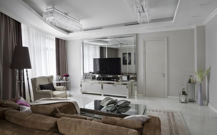 Фото № 64046 гостиная  Квартира