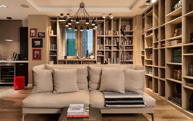 Квартира. гостиная из проекта , фото №64061