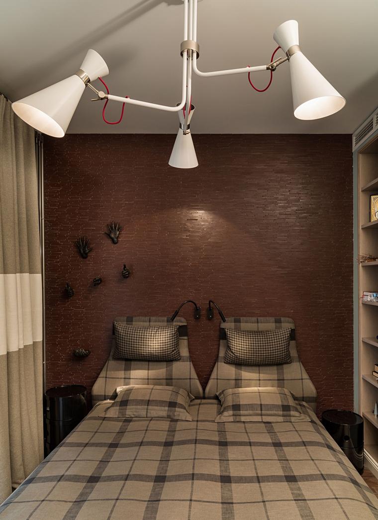 Квартира. спальня из проекта , фото №64068