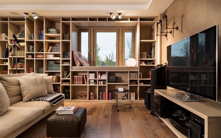 Квартира. гостиная из проекта , фото №64062