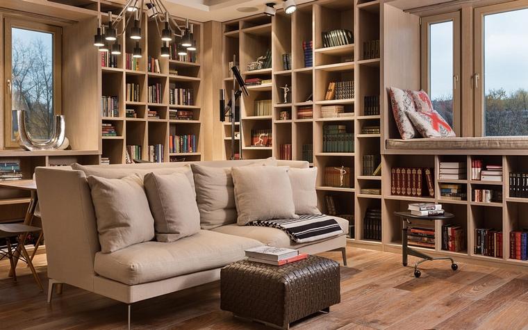 Квартира. гостиная из проекта , фото №64057