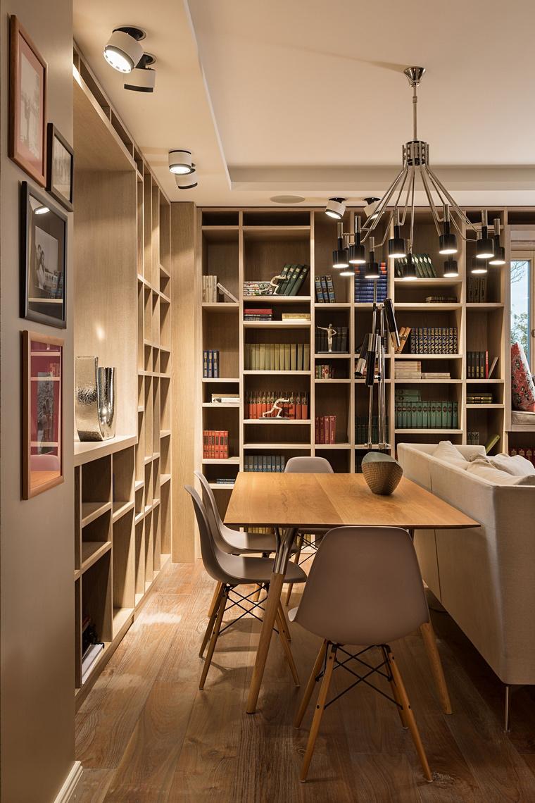 Квартира. столовая из проекта , фото №64063
