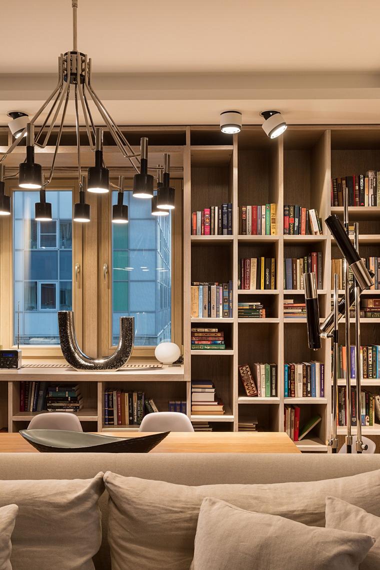 Квартира. гостиная из проекта , фото №64059