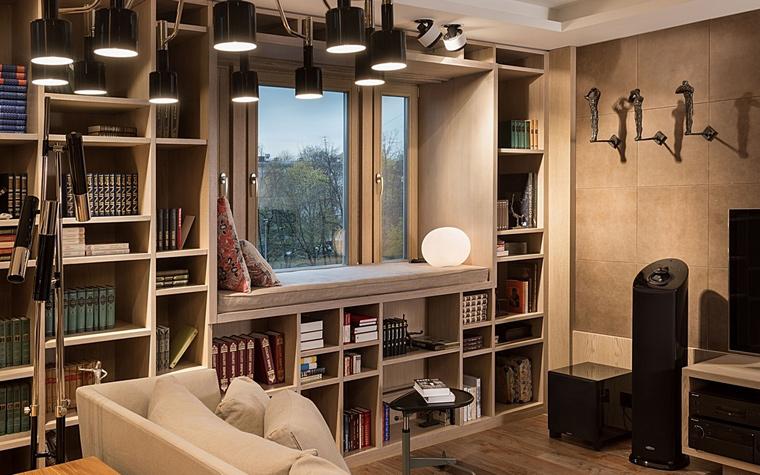 Квартира. гостиная из проекта , фото №64060