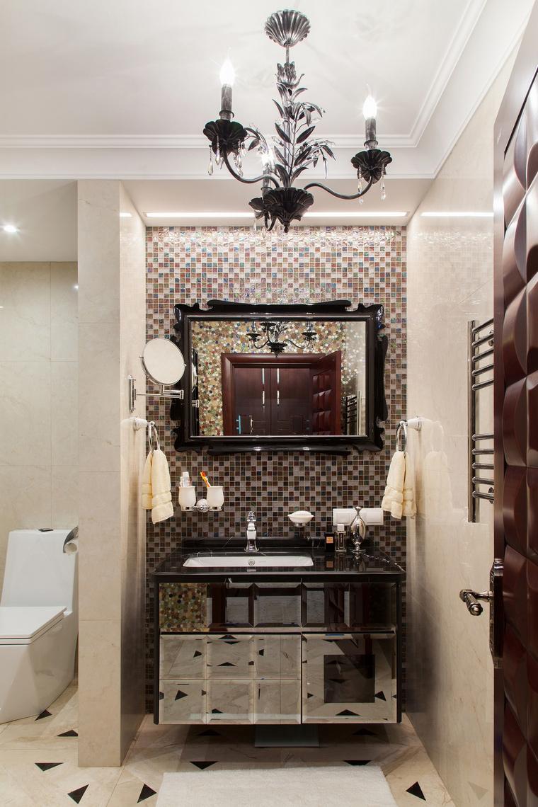 Фото № 64077 ванная  Квартира