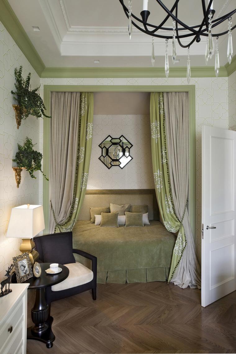 Фото № 64106 спальня  Квартира