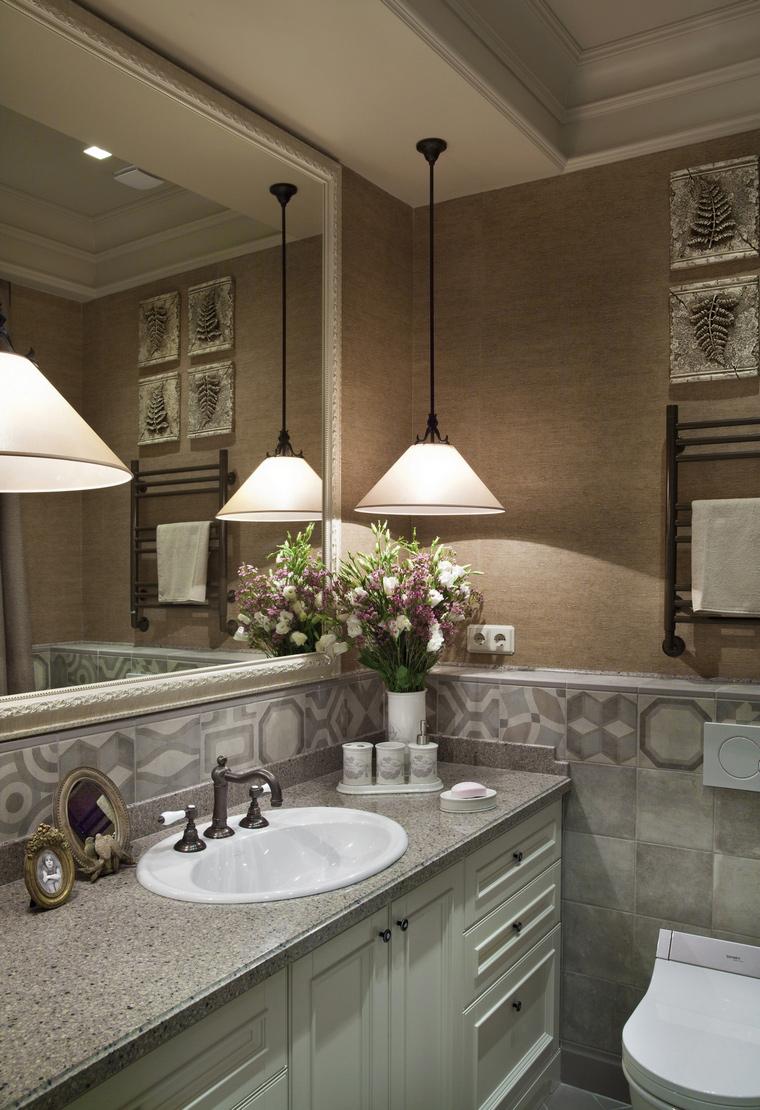 Фото № 64109 ванная  Квартира