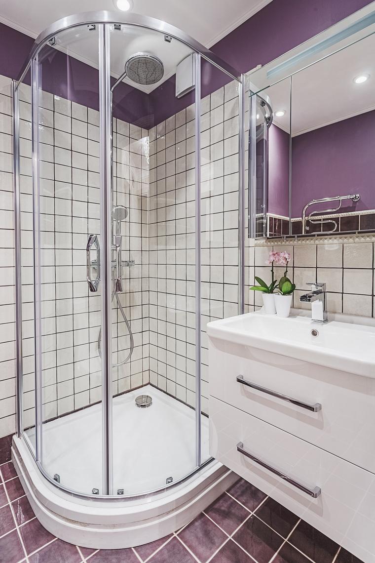Квартира. ванная из проекта , фото №64124