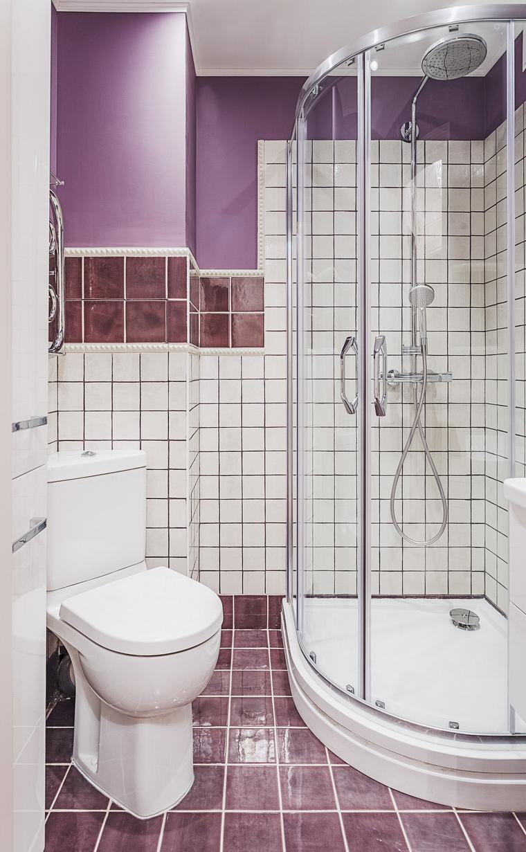 Квартира. ванная из проекта , фото №64125