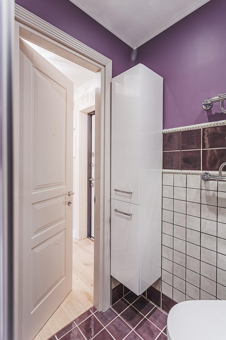 Квартира. ванная из проекта , фото №64126