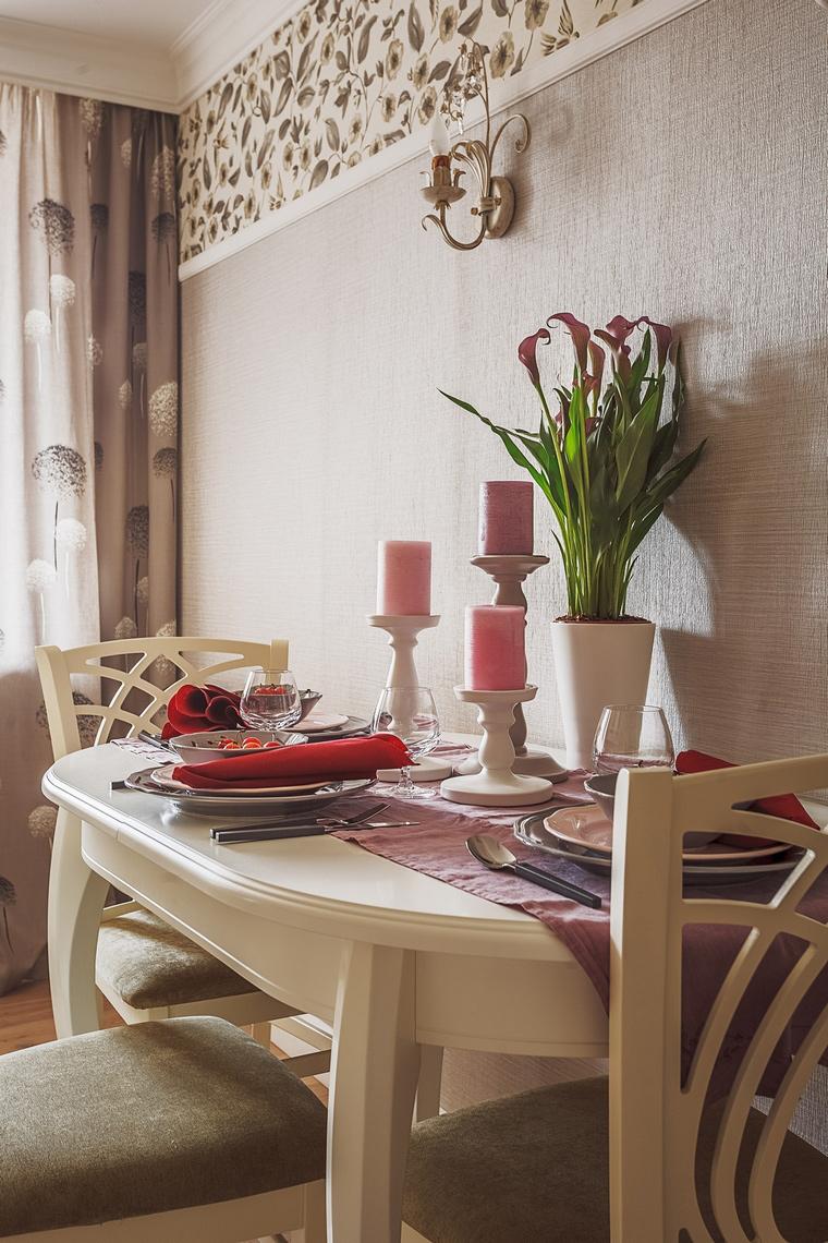 Фото № 64113 кухня  Квартира