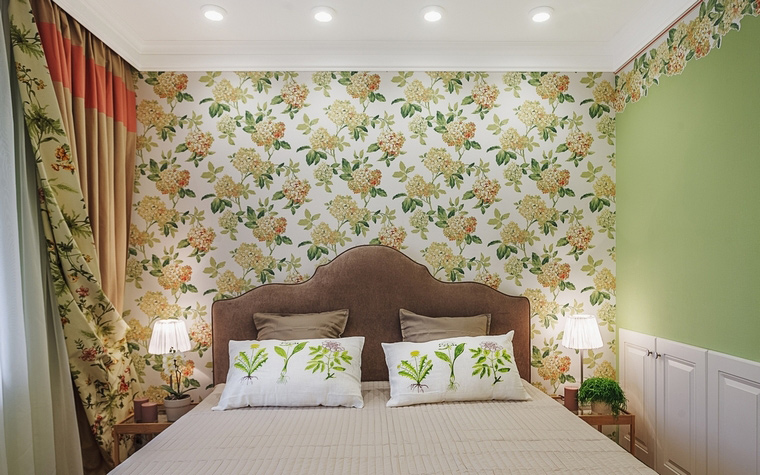 интерьер спальни - фото № 64117