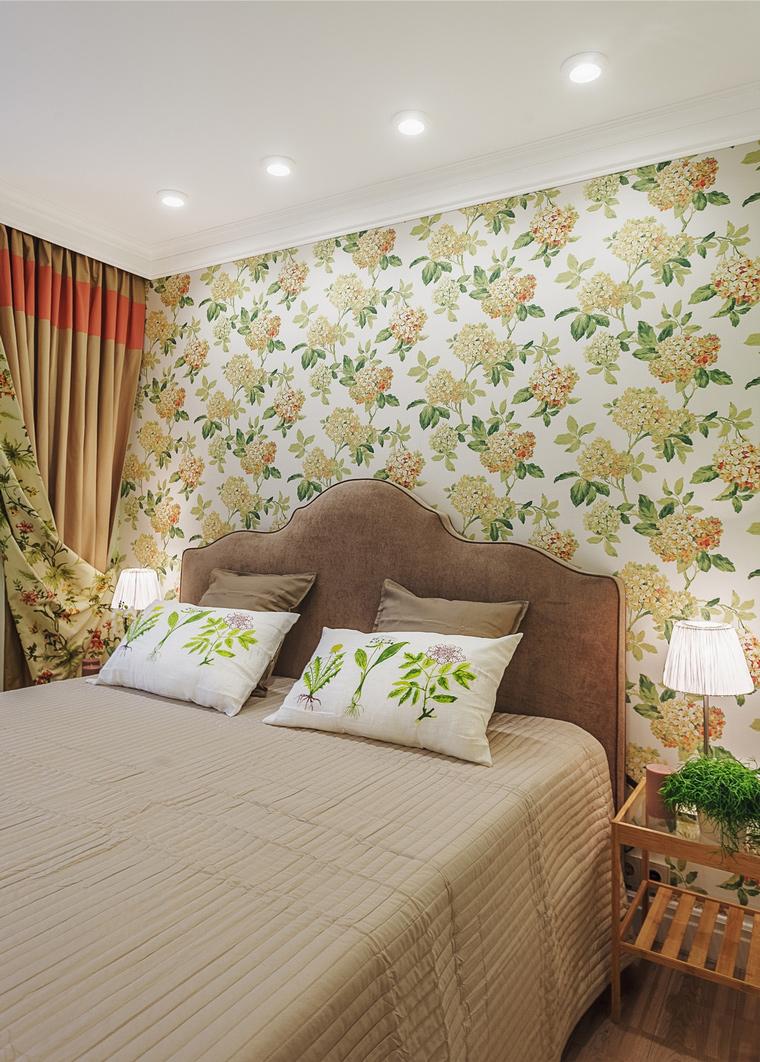 интерьер спальни - фото № 64118