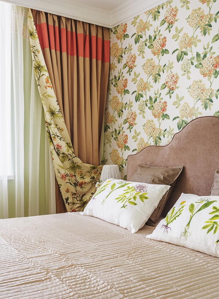 интерьер спальни - фото № 64121