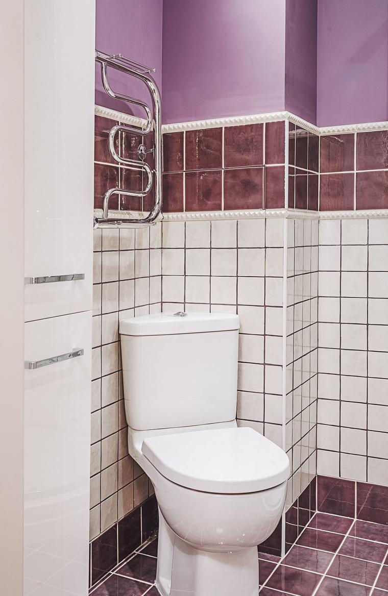 Квартира. ванная из проекта , фото №64123