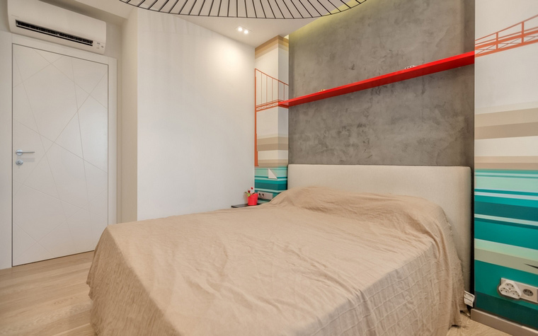 Квартира. спальня из проекта , фото №64179