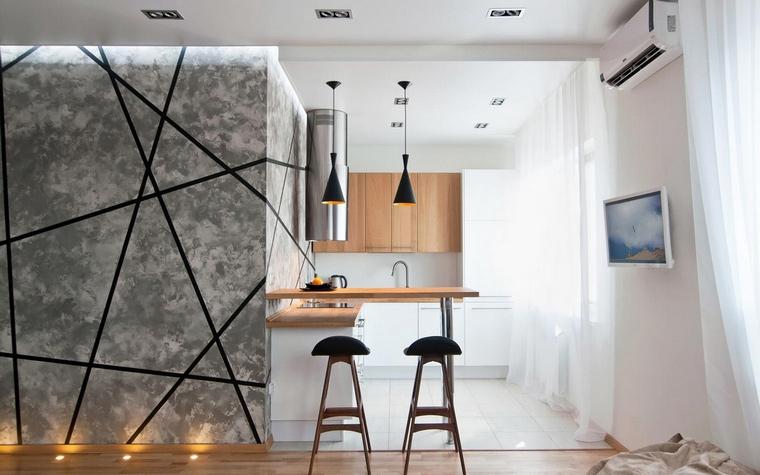 Фото № 64264 кухня  Квартира