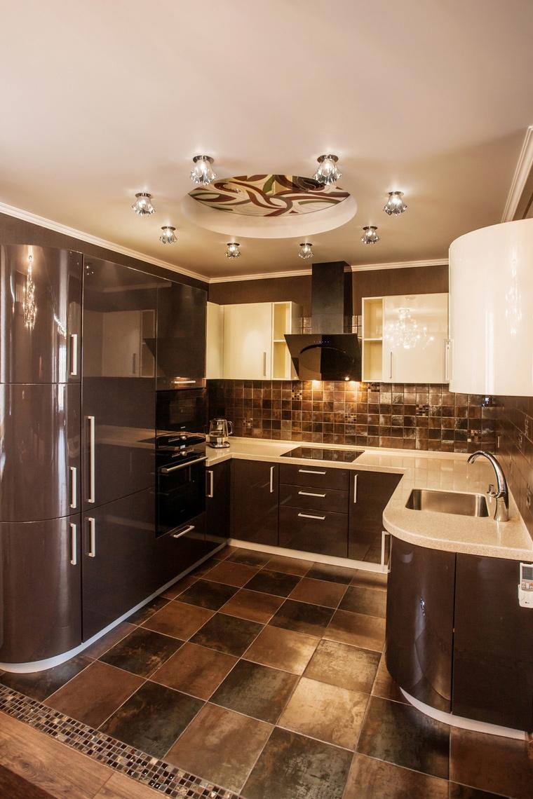 Квартира. кухня из проекта , фото №64320
