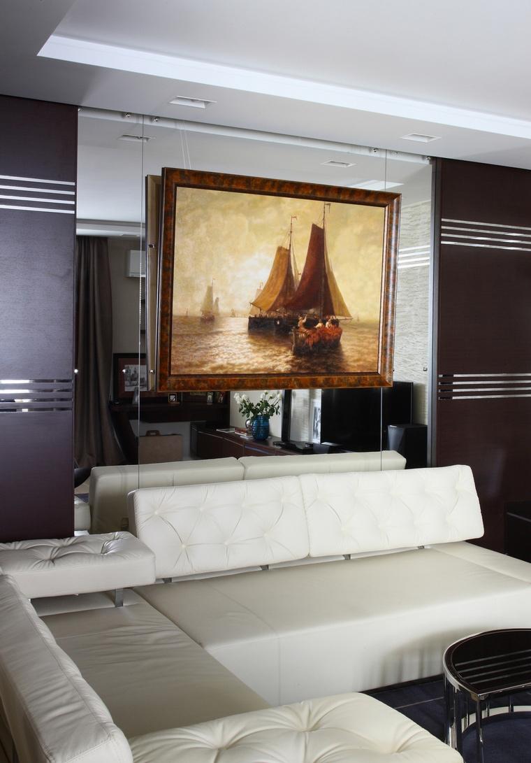 Квартира. гостиная из проекта , фото №64507