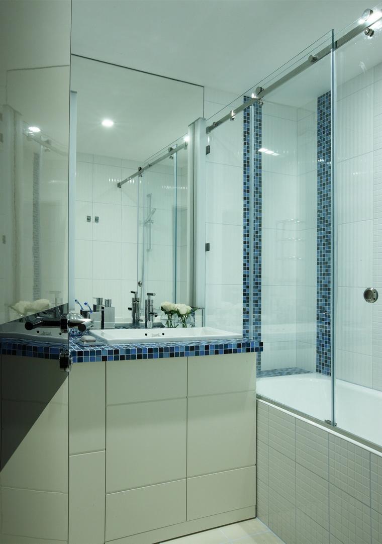Квартира. ванная из проекта , фото №64519