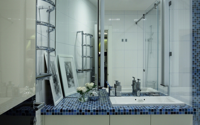 Квартира. ванная из проекта , фото №64520