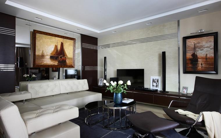Квартира. гостиная из проекта , фото №64503