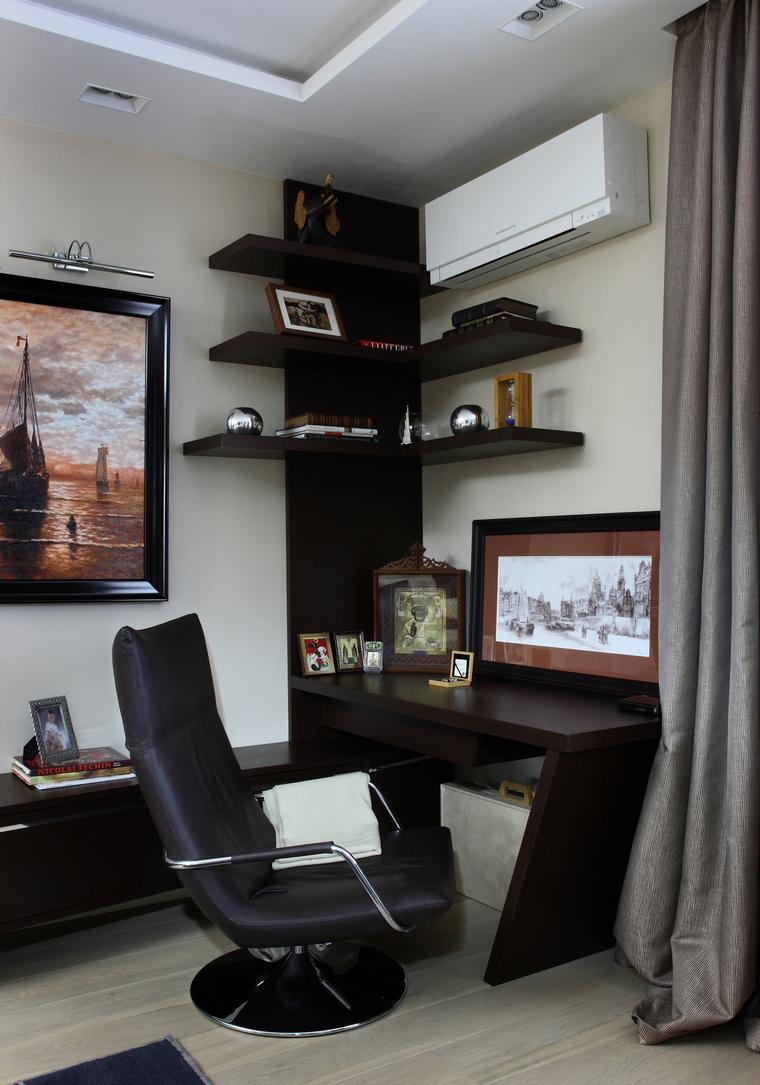Квартира. кабинет из проекта , фото №64513