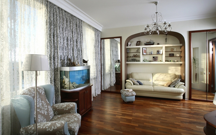 Квартира. гостиная из проекта , фото №64575