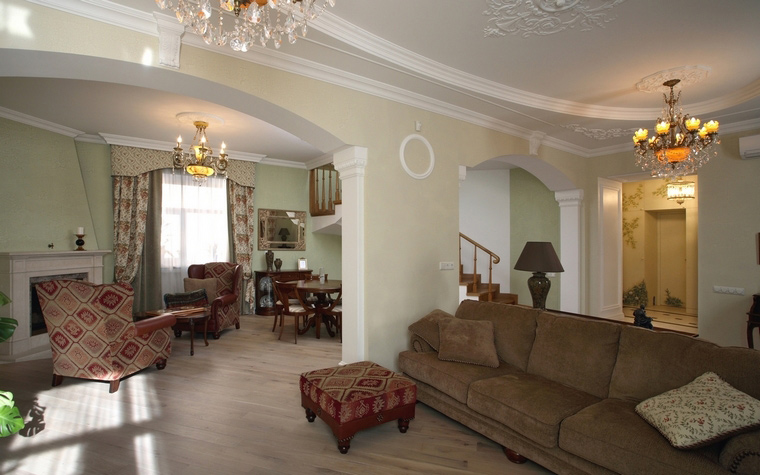 Квартира. гостиная из проекта , фото №64582