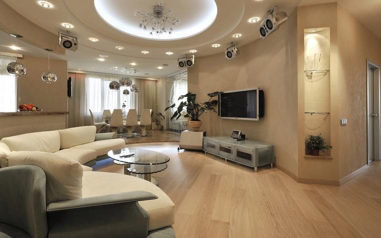 интерьер гостиной - фото № 64680