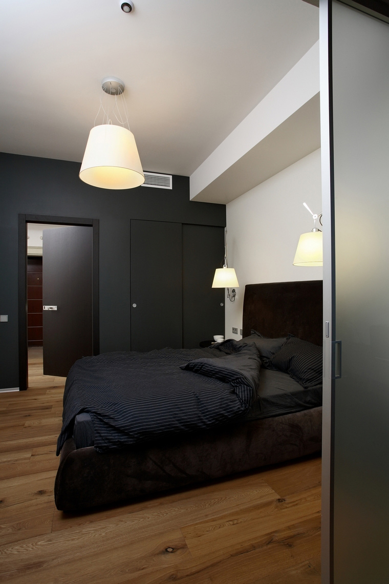 Квартира. спальня из проекта , фото №64702