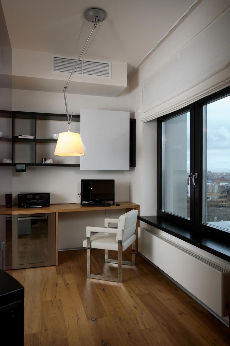 Квартира. кабинет из проекта , фото №64704