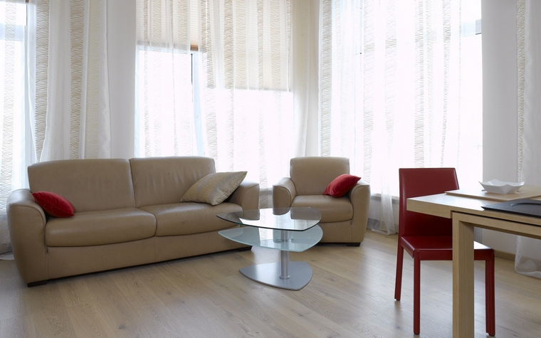 Фото № 64725 гостиная  Квартира