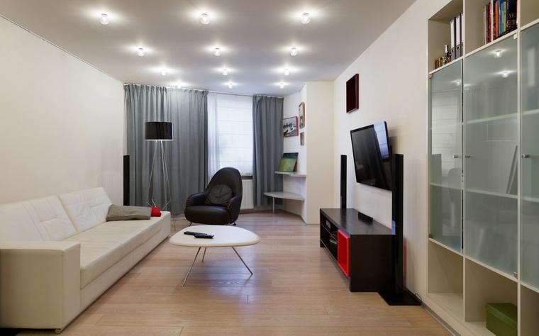 Фото № 64733 гостиная  Квартира