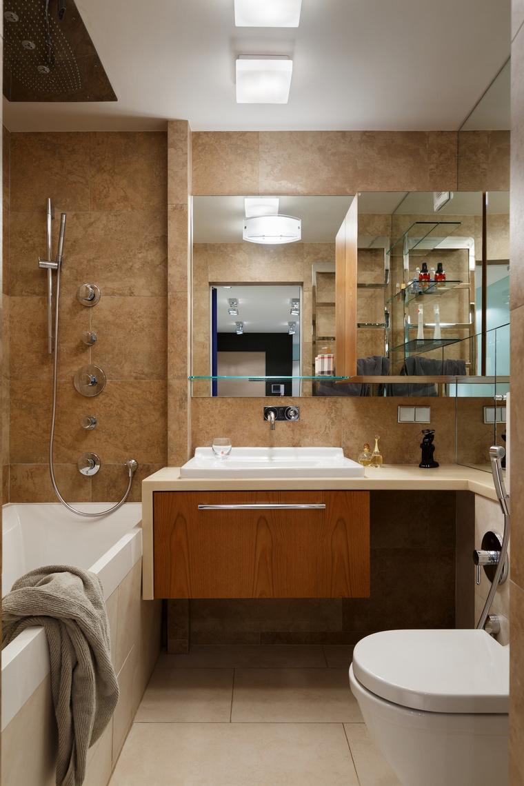 Фото № 64740 ванная  Квартира