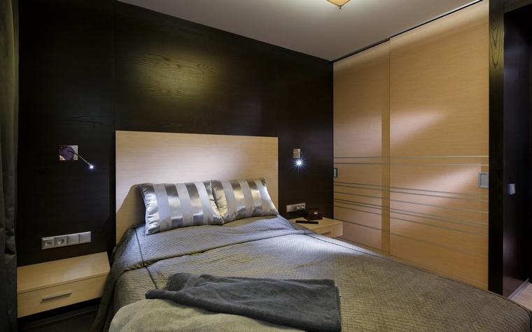 Квартира. спальня из проекта , фото №64735