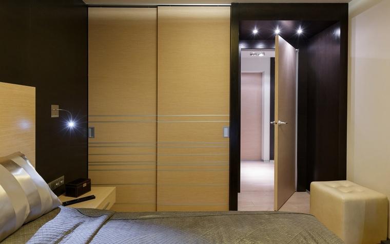 Квартира. спальня из проекта , фото №64736