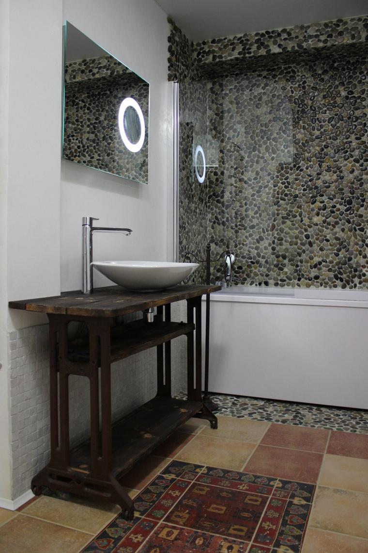Квартира. ванная из проекта , фото №64829