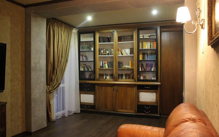 Квартира. кабинет из проекта , фото №64826
