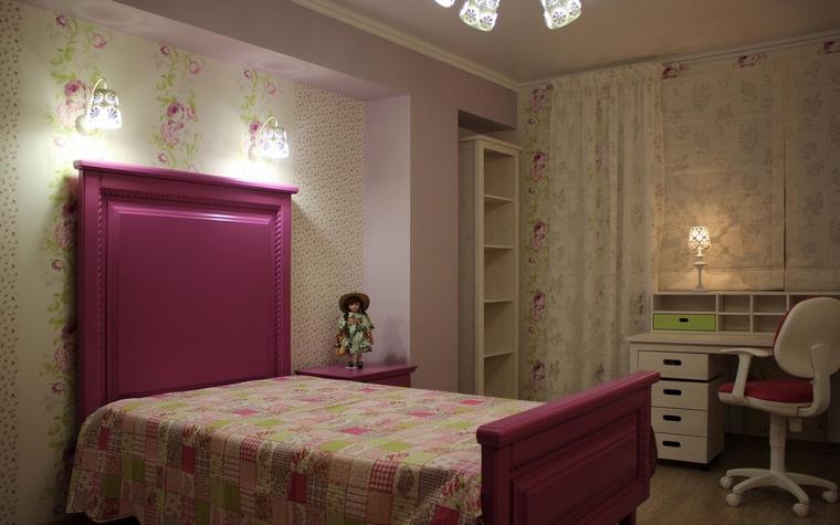 Квартира. детская из проекта , фото №64827