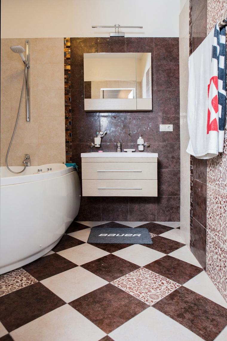 Фото № 64835 ванная  Квартира