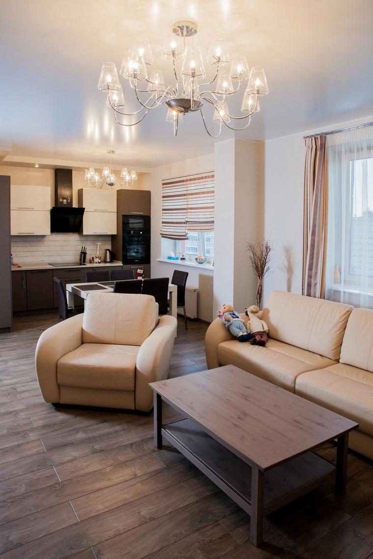 интерьер гостиной - фото № 64831