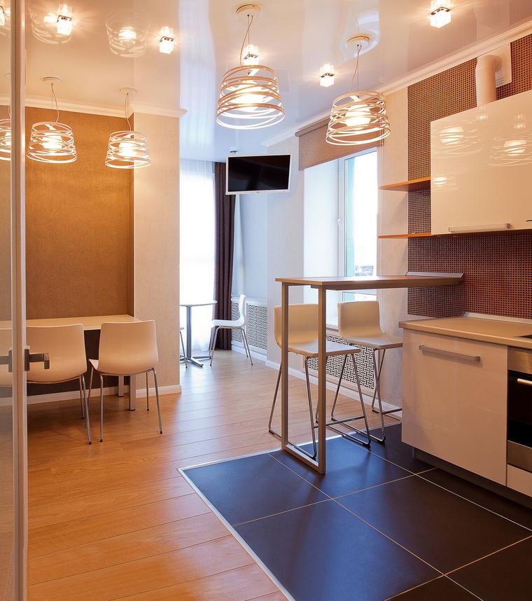 Фото № 64843 кухня  Квартира