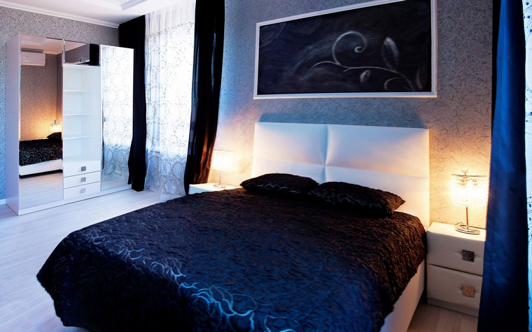 интерьер спальни - фото № 64841