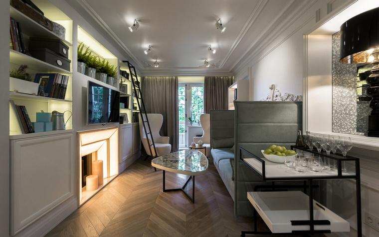 Фото № 64899 гостиная  Квартира